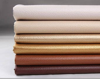 50 cm x 68 cm Synthetic Leather Upholstery Fabric