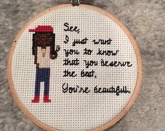 Lil Wayne Cross Stitch