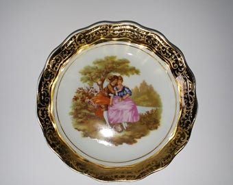 Beautiful Limoges Mini Plate