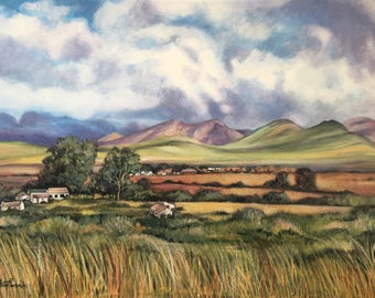 McGregor, South Africa - Oil Painting