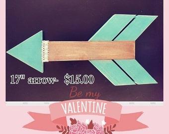 Be My Valentine Arrow