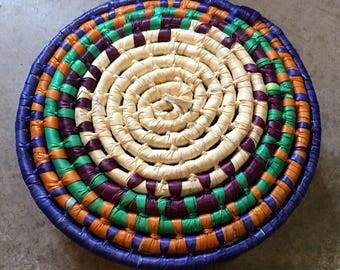 Tortilla Basket / Tortilla Woven Basket / Mexican Tortilla Basket / Tortilla Warmer Basket / Tortilla Setving Basket