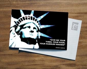Statue of Liberty | Activist Postcard