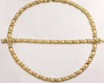 Xoxo Necklace + Xoxo Bracelet Set