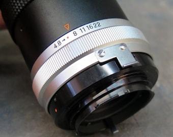 Sun Hi-Tele Zoom Lens F: 4.8 f=85-210 mm for Minolta MD Camera mounts