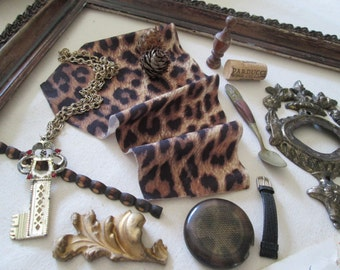 Assemblage Collection, European Style, Salvage, Altered Art