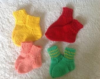 Baby socks baby socks handmade 4 pair