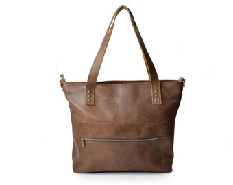 Shopper Handmade Shabbies Leather