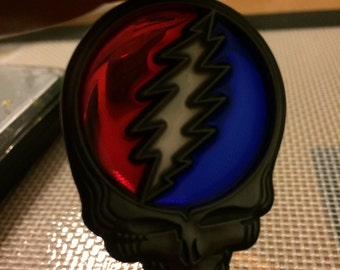 Stained glass Steal Your Face Pendandt