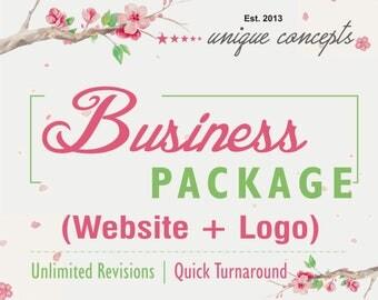 Business Branding, Business Package, Website Design, Logo Design, Custom Logo Design, Blog Website, Custom Website, Wordpress Website