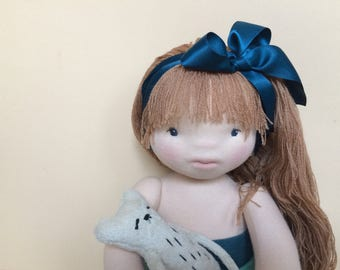 Alina, Waldorf doll, Soft Sculpture Doll, Handmade Doll, Cloth Doll, Baby Doll, Organic Doll, Gift for girl, Waldorf, Girl Doll