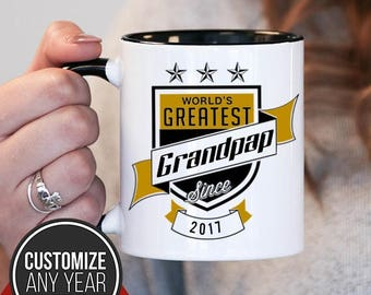 World's Greatest Grandpap Since (Any Year), Grandpap Gift, Grandpap Birthday, Grandpap Mug, Grandpap Gift Idea, Baby Shower, ,