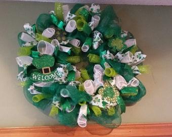 Sr Patricks Day Wreath