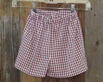 Child BWB Checked Shorts