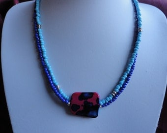 Bohemian Beauty Seed Bead Multi Strand Necklace - N27
