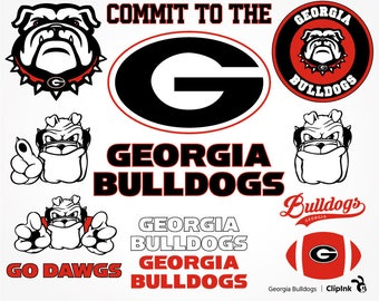 Georgia Bulldogs svg, Bulldogs clipart, Georgia svg, Georgia clipart, Dawgs digital – svg, eps, png, dxf, pdf. Cut Print Mug Shirt Decal.