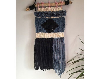 Weave wall hanging