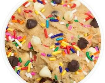 Funfetti Cake Batter Cookie Dough - 12oz. Jar of Edible Cookie Dough - Gourmet Edible Cookie Dough