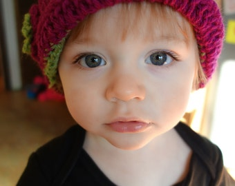 Cloche Hat for Infants and Toddlers