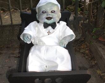 OOAK Horror Living/Dead Zombie Baby Boy