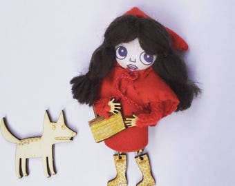 Bonbon kit Doll little Red Riding Hood