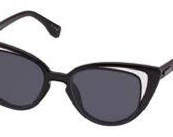 MinkPINK sunglasses black cat eye