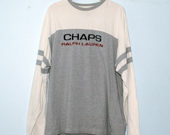 Vintage Chaps Ralph Lauren Long Sleeve - XL