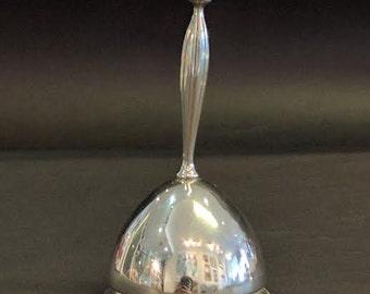 Sterling Silver Vintage Dinner Bell