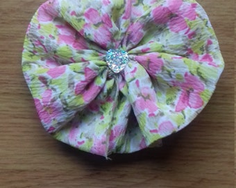 Floral Pattern hair clip/brooch