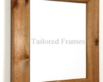 Large Wooden Picture Frames in Antique pine in dark and lite.
