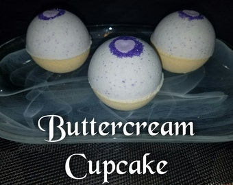 Buttercream Cupcake Bath Bomb