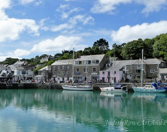 Seascape Photograph - Padstow Harbour - Instant Download