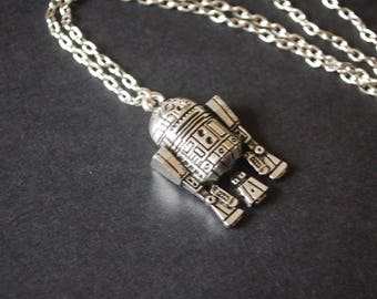 R2D2 Star wars robot necklace