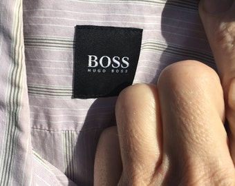Men Hugo Boss short sleeve button up
