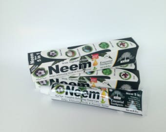 Neem Essential Toothpaste/  Flouride Free/  5 in 1/ Oral Care/ Dental Care