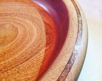 Large Wooden salad bowl