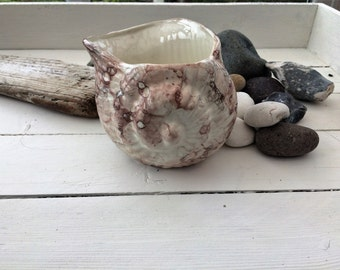 Vintage shellfish jug or container
