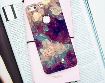 Colored quartz  case for Google Pixel Case, quartz case, Google Pixel case, colorful crystal case for google pixel xl, quartz pixel case