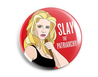 Feminist Buffy Button