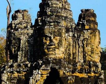 Four Faced Buddha Poster Print