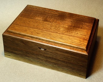 Black Walnut Jewelry Box