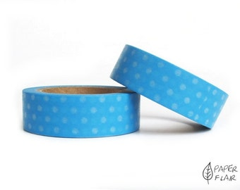 Washi tape blue points dots (PY-108)