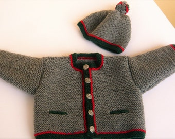 Baby costumes Jabbawockeez, Cardigan, jacket 62/68 with Hat