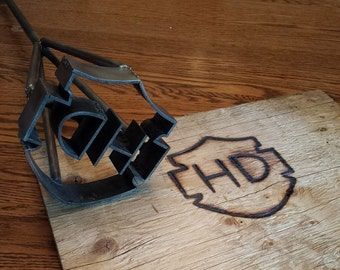 Custom Branding Iron - Hand Forged - Blacksmith