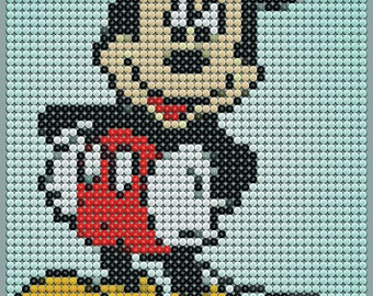 Mickey Mouse M&M Art Poster