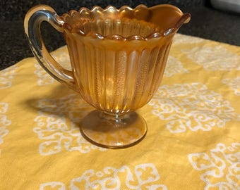 Vintage Carnival Glass Creamer Cup