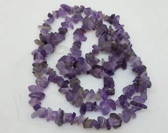 Deep Purple Amethyst Beads