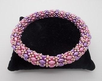 Bracelet Kit Dreave Weave Bangle Kit Make your own jewellery Super duos Beading Patterns