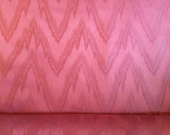 5 Yards Traditional Flame Stitch Cotton Fabric