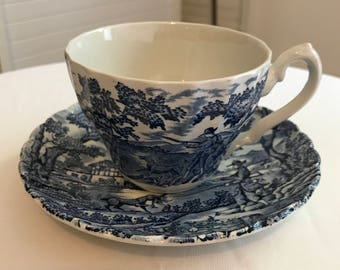 English tea MYOTT hunting scene